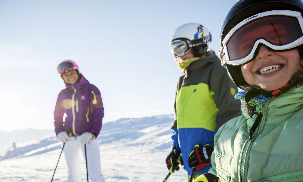 Familienfreundliche Wintersportbedingungen