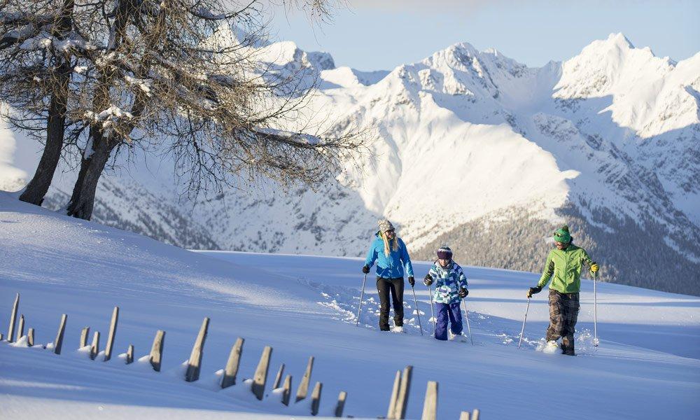 Ideal für Schneeschuhwanderer und Langläufer