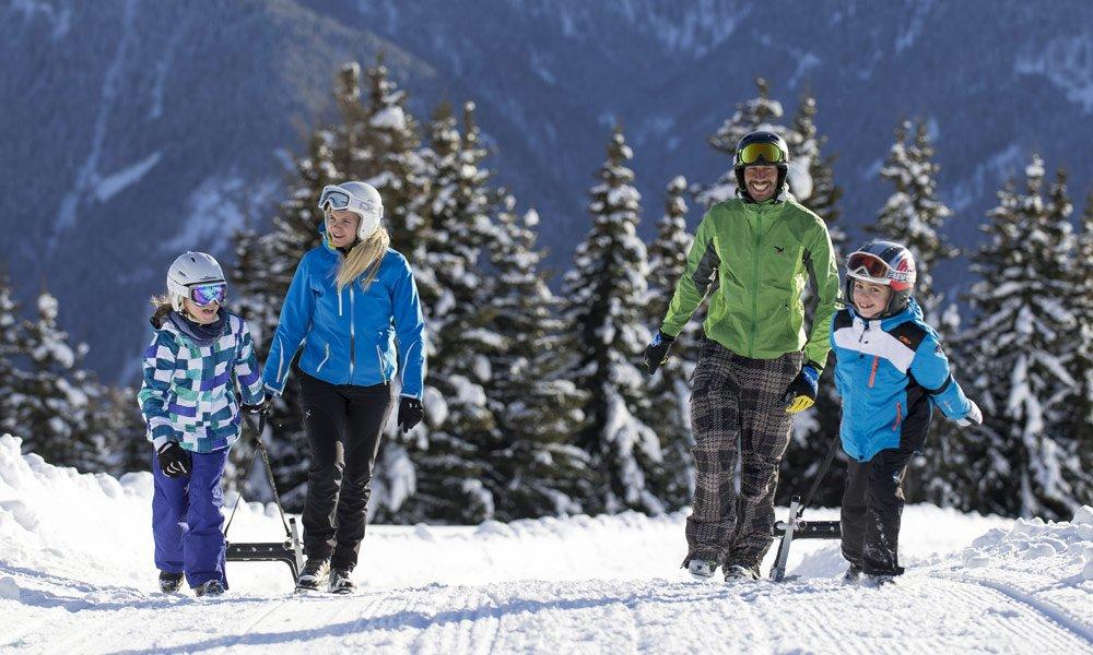 Vacanza invernale a Maranza: Divertirsi slittando!