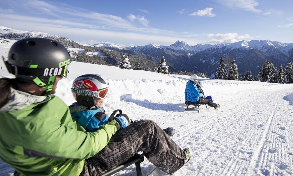 Una discesa romantica dall'Alpe di Fane