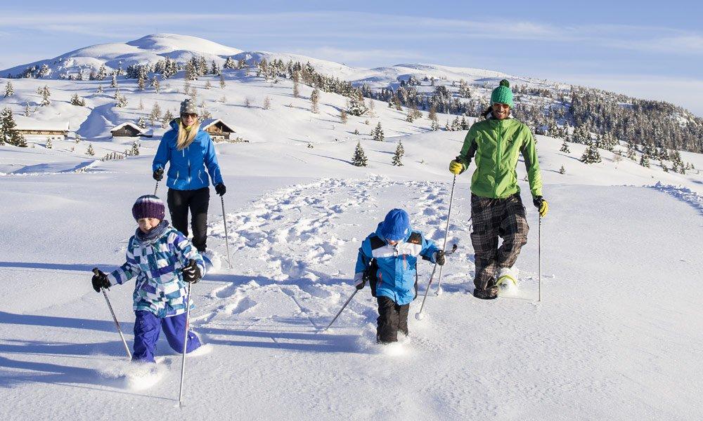 Schneeschuhwandern Meransen: Bei uns liegt Ihnen der Winter zu Füßen