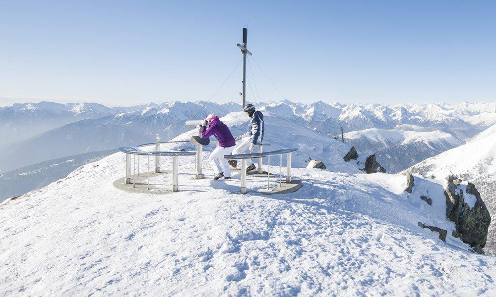 In Schneeschuhen zum Gipfel