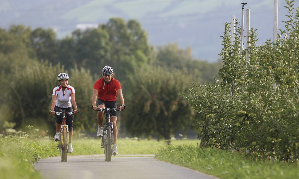 Große Auswahl an Bike-Routen